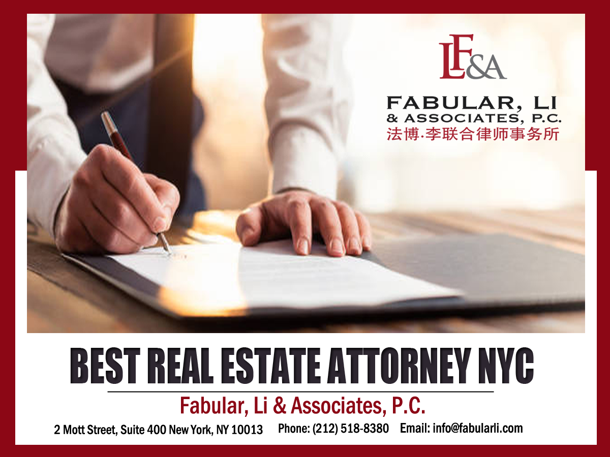 BEST REAL ESTATE ATTORNEY NYC