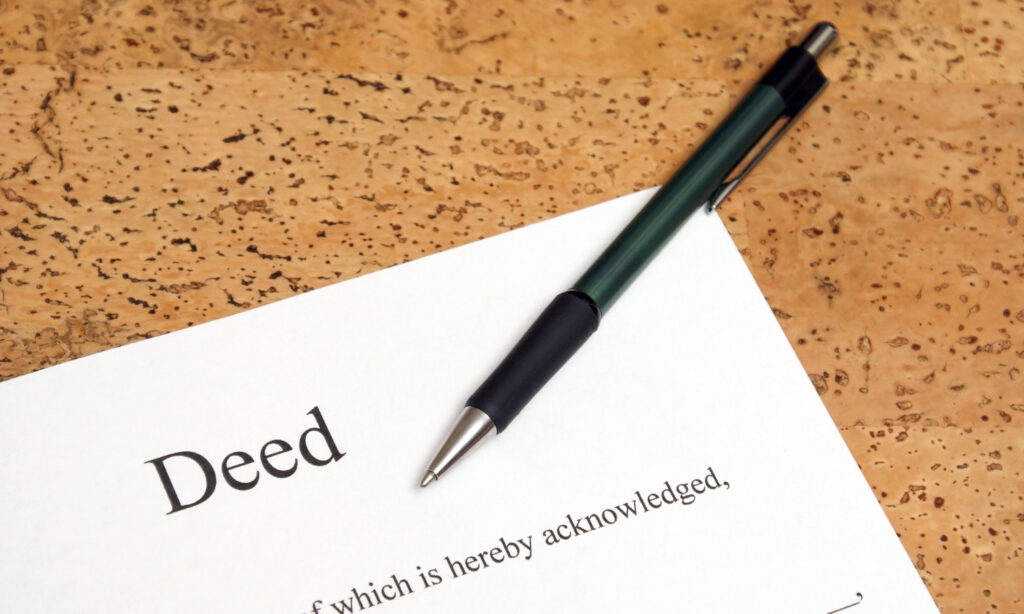 deed transfer service in NYC